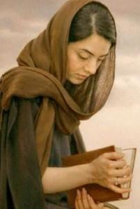 rostros femeninos pintor Iman Maleki