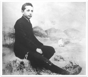 Fotos de Albert Einstein cuando aún era un niño 01