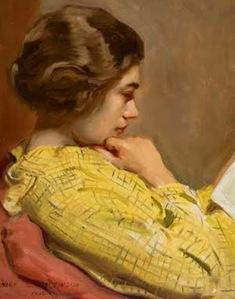 sidney dickinson-mujer-leyendo-pintores-y-pinturas-juan-carlos-boveri