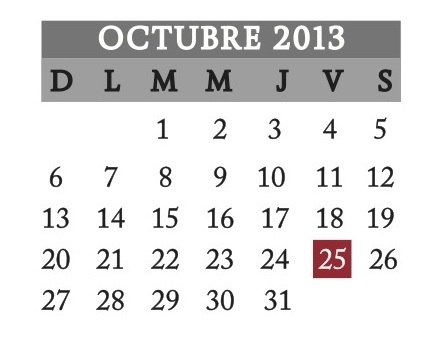 OCTUBRE