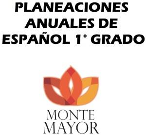 xxx-PLANEACIONES ESPAÑOL 1° GRADO