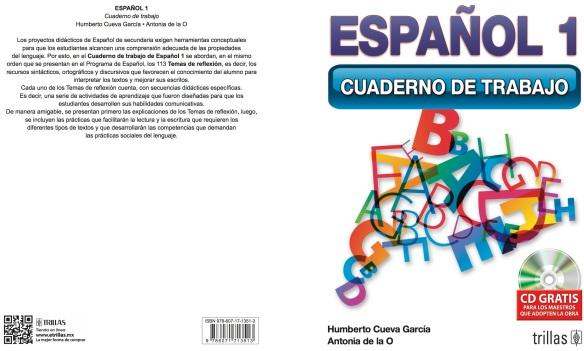 ESPAÑOL 1 CUADERNO DE TRABAJO PORTADA