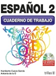 Portada:Español 2 Cuaderno de trabajo Portada