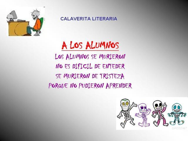 CALAVERITA LITERARIA