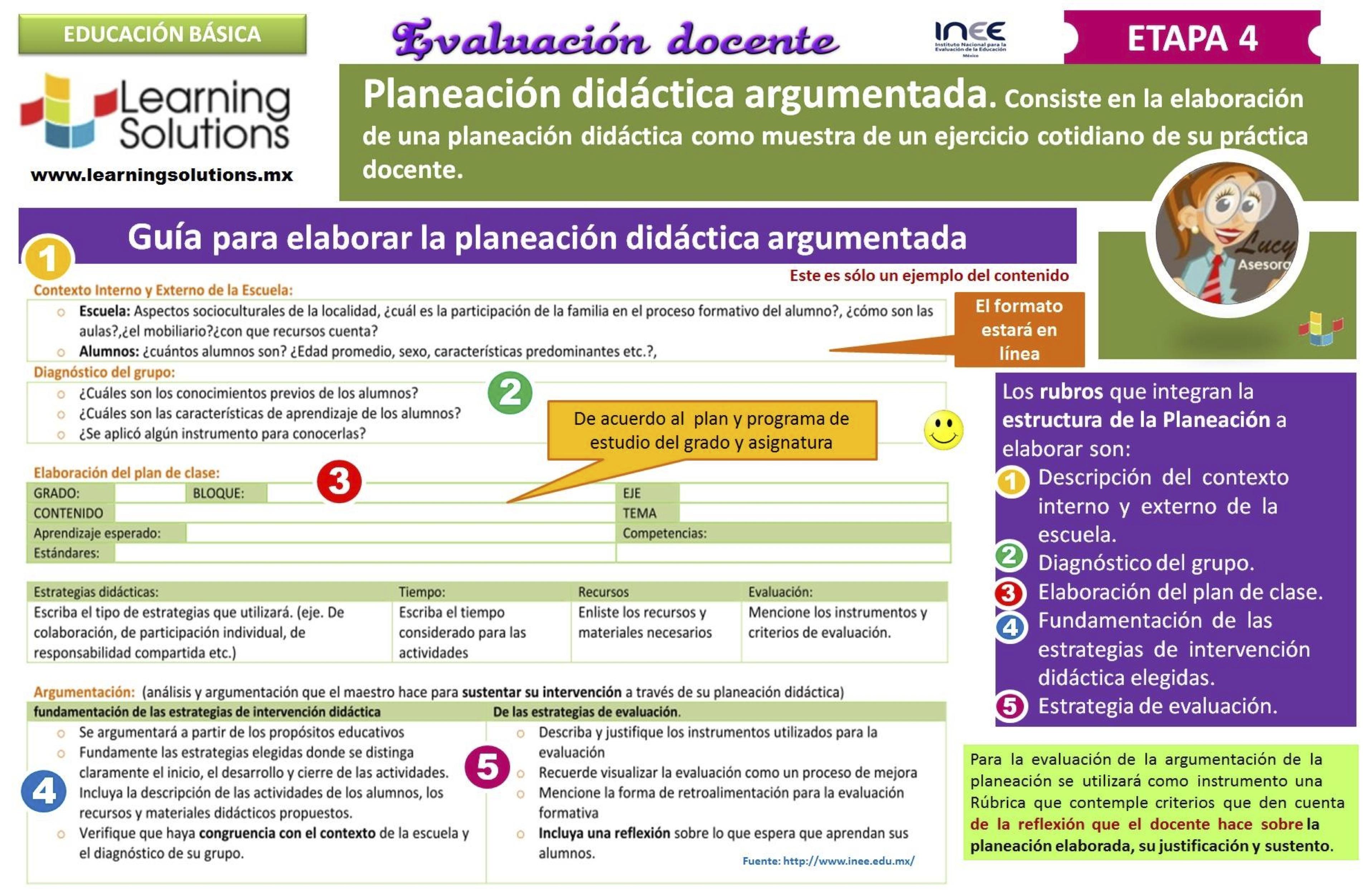 Planeaciones De Primaria 2016 Argumentadas Formato Ejemplo ...