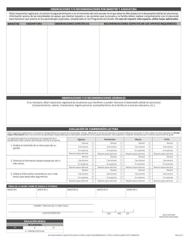 REPORTE DE EVALUACION 13-14 copia 2