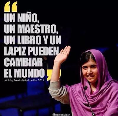 Malala un niño un maestro
