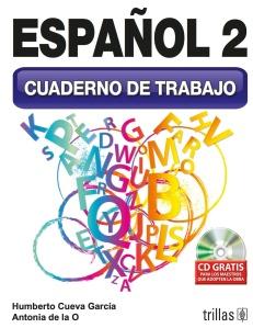 2.-Español 2 Cuaderno de trabajo Portada